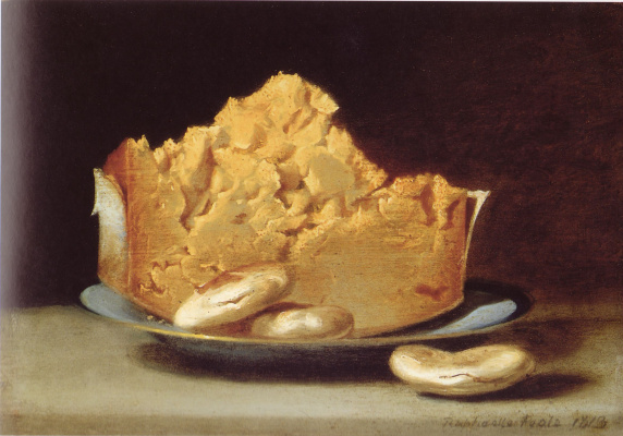 Raphaelle Peale. Cheese with three crackers