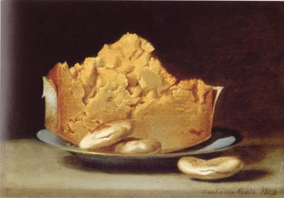 Сыр с тремя крекерами