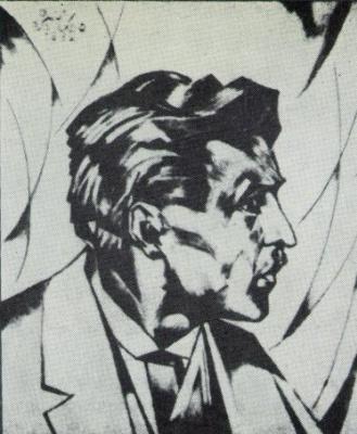 Михаил Львович Бойчук. Портрет Михаила Жука.