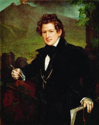 Vasily Andreevich Tropinin. Portrait Of Karl Pavlovich Briullov