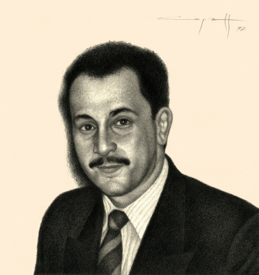 Nikolai Nikolayevich Sednin. Portrait Of Yevgeny Czekanowska