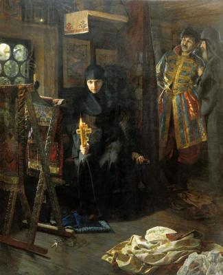 Николай Матвеев. Против воли постриженная