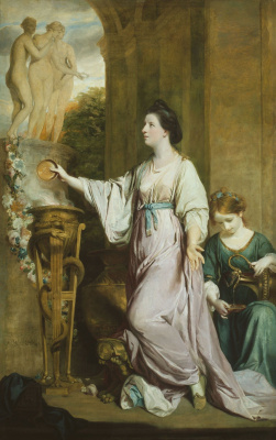 Joshua Reynolds. Lady Sarah Barnbury, Sacrifice to Grace