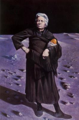 Альберто Донэр. Пожилая женщина