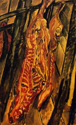 Haim Solomonovich Soutine. Carcass
