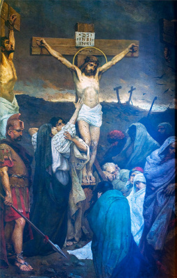 Wilhelm Alexandrovich Kotarbinsky. The Crucifixion Of Jesus Christ