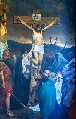 Вильгельм Александрович Котарбинский. Распятие Иисуса Христа