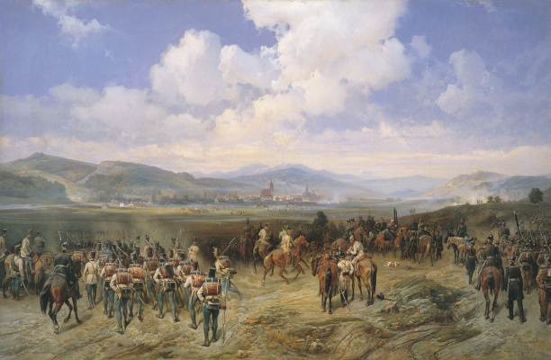 Bogdan Pavlovich Willewalde. Battle of Bystritsa (Episode of the Russian-Hungarian war of 1849) 1881