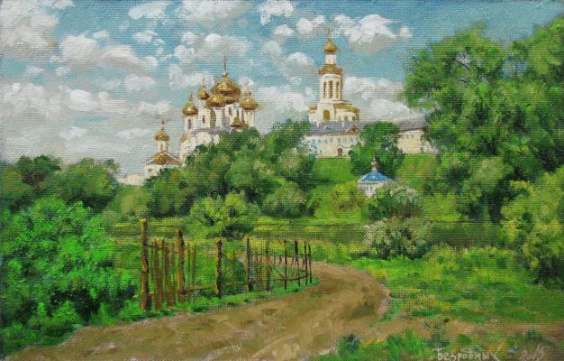Alexander Nikolaevich Bezrodny. Monastery.