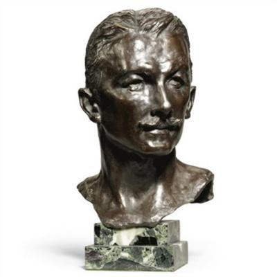 Sarah Bernard. The Head Of Maurice Bernard