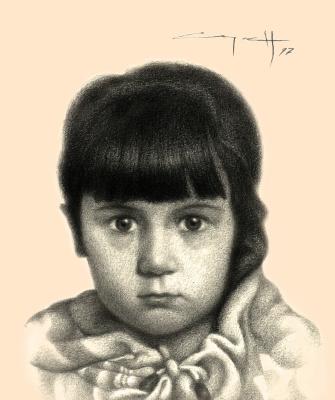 Nikolai Nikolayevich Sednin. Portrait Of Yana Tsykanovsky
