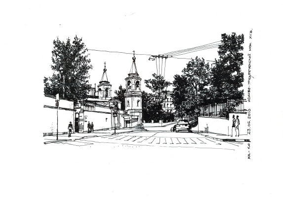 Sergey Vyacheslavovich Kravchenko. Ioanno-Predtechenskiy Monastery. Moscow. 23.06.2010