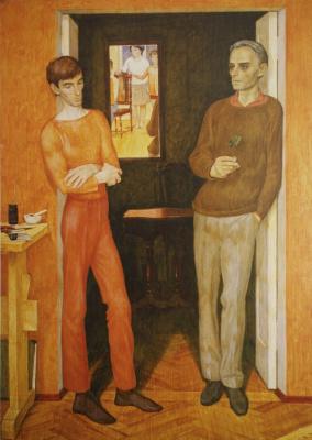 Дмитрий Дмитриевич Жилинский. Два художника. 1971