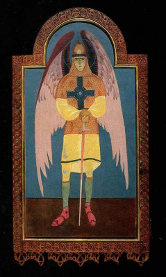 Peter Ivanovich Cold. Archangel Michael. Deacon Gate of the Icon Screen of the Chapel of the Holy Spirit
