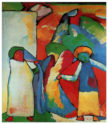 Wassily Kandinsky. Improvisation No. 6 (African)