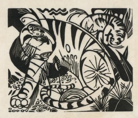 Franz Marc. Tigers