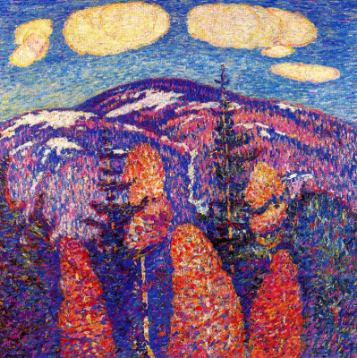 Marsden Hartley. Autumn