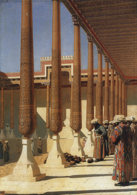 Vasily Vereshchagin. Imagine the trophies