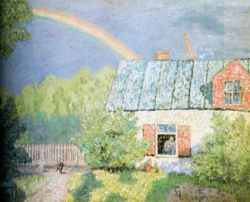 Николай Петрович Крымов. После весеннего дождя