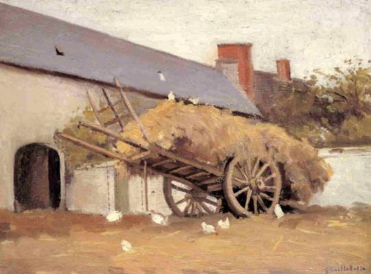 Gustave Caillebotte. Laden wagon
