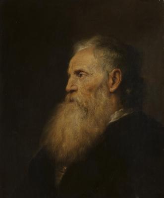 Ян Ливенс. Портрет старика с бородой