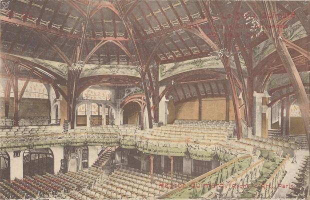 Hector Guimard. Humbert Romansky Concert Hall
