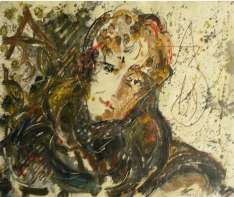 Anatoly Zverev. Portrait Of M. Aseeva