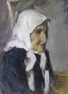 Yuri Nikolaevich Volkov. Portrait of Paraskovya Vasilyevna, artist's grandmothers