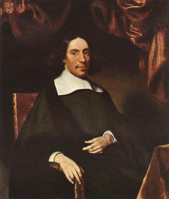 Nicholas Mas. Portrait Of Justus