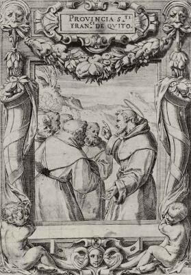 Агостино Карраччи. Наставления святого Франциска