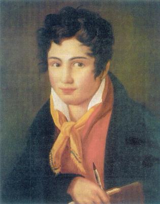 Fedor (Fidelio) Antonovich Bruni. Self-portrait