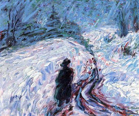 Эмиль Нольде. Зима