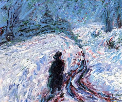 Emil Nolde. Winter