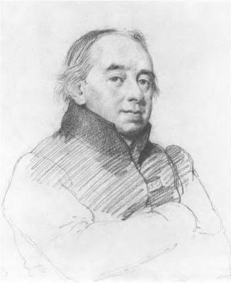 Orest Adamovich Kiprensky. Portrait of Abbot Scarpellini