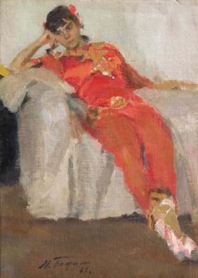Михаил Михайлович Божий Украина 1911 -1990. Отдых . 1967