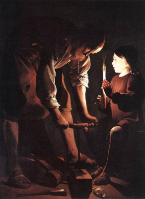 Georges de La Tour. Christ