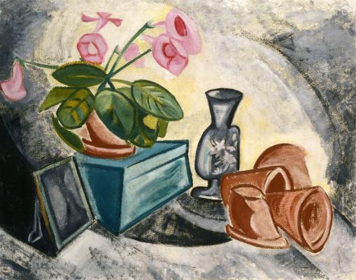 Olga Vladimirovna Rozanova. Still Life (Pink Flowers)