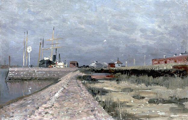 Alexey Petrovich Bogolyubov. Petersburg Sea Canal