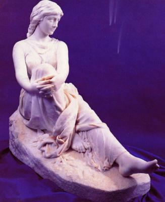 Беснард Шарлотта Габриэль Дабрей. Сидящая женская фигура