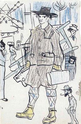 Pablo Picasso. Employee