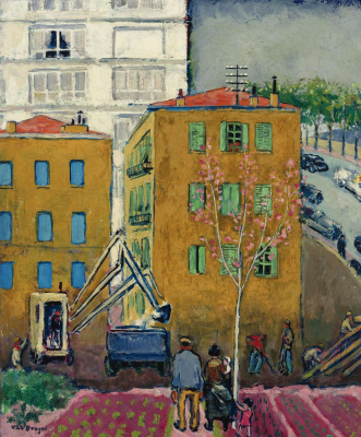 Kees Van Dongen. A Parisian Boulevard