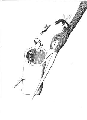 Пётр Великий. Black stork
