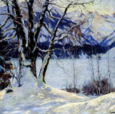 Edward Cucouel. Winter cover