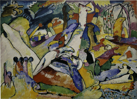 """Wassily Kandinsky. Sketch for """"Composition II"""""""