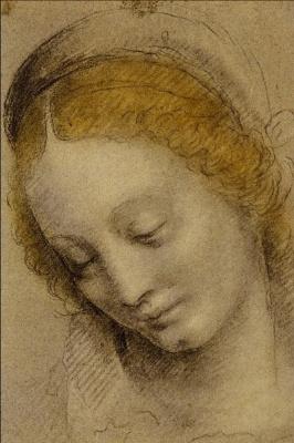 Бернардино Луини. Head Of A Woman