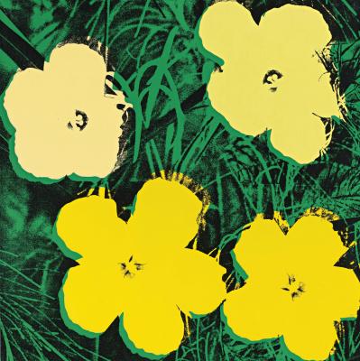 Энди Уорхол. Желтые цветы