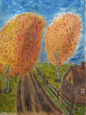 """Alexey Grishankov (Alegri). """"Autumn twilight"""""""