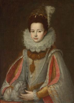 Sofonisba Anguissola. Portrait of Isabella di Savoie