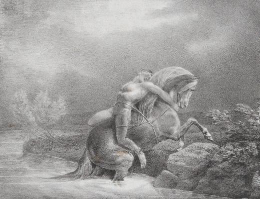 Théodore Géricault. Mazepa