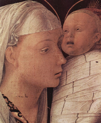 Andrea Mantegna. Christ in the temple